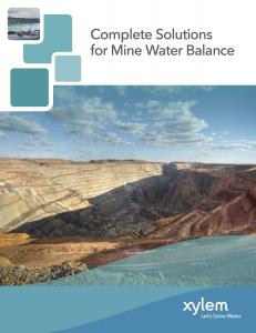 Xylem Mining Brochure