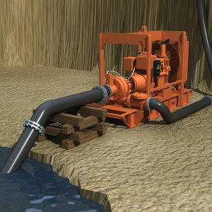 Open Pit Dewatering feature